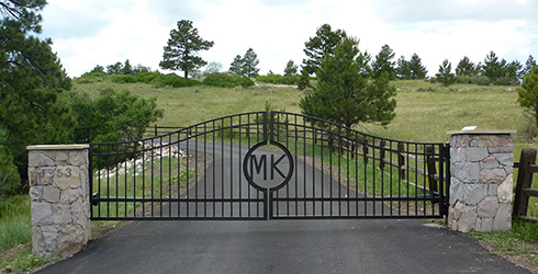 Driveway Entry Gate Swing For